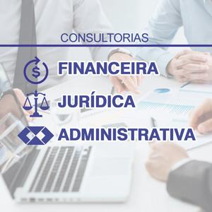 Consultorias Financeira, Jurídica e Administrativa